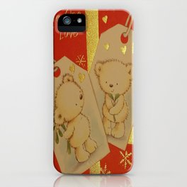 LOVE AT CHRISTMAS iPhone Case