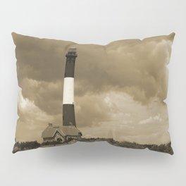 Fire Island Light In Sepia Pillow Sham