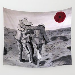 Brothers in Arms Wall Tapestry
