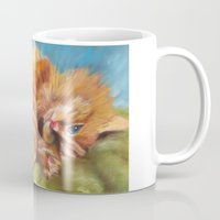 gizmo Mugs featuring Gizmo by Liz Thoresen