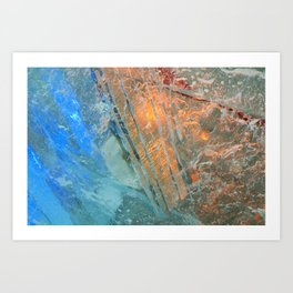 Ice 4 Art Print