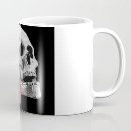 Skull with rose, gothic, skull, rose Coffee Mug