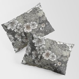 Lichen art on granite Pillow Sham