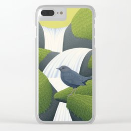 American Dipper Clear iPhone Case