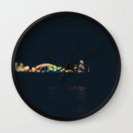 rainbow of lights ... Wall Clock