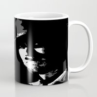 clint barton Mugs featuring CLINT by DRMdesign