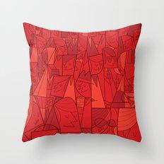 Citystreet Throw Pillow