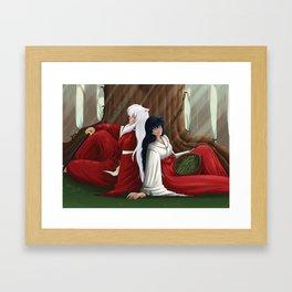 Dreams Beneath the Goshinboku Framed Art Print