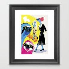 Sloth life Framed Art Print