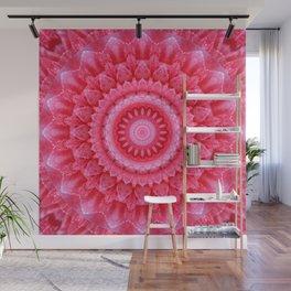 Mandala Rose petals Wall Mural