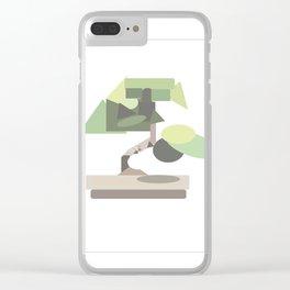 Geo Bonsai Clear iPhone Case