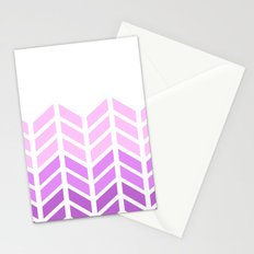 OMBRE LACE CHEVRON 2 Stationery Cards