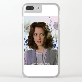 90s Clear iPhone Case