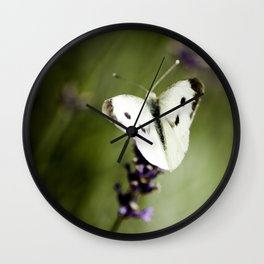 Butterfly Dream 2 (Square) Wall Clock