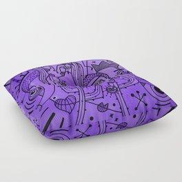 Ultra Violet Floor Pillow
