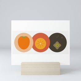 Kaki fruit Time! Mini Art Print