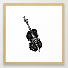 Cello Framed Art Print