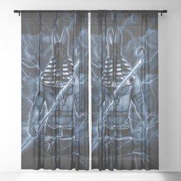 ANUBIS Sheer Curtain