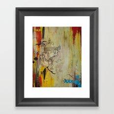 Lichtschwert / Lightsaber Framed Art Print