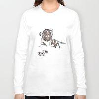 freddy krueger Long Sleeve T-shirts featuring FREDDY KRUEGER! by John Medbury (LAZY J Studios)