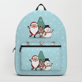 Merry Christmas and Happy New Year Backpack