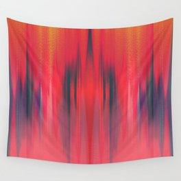 Summer Heatwave Blues Wall Tapestry