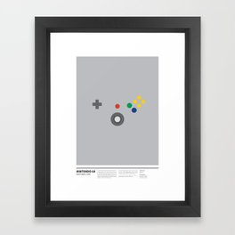 NINTENDO 64 Framed Art Print