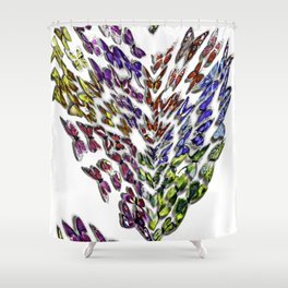 For the love of Butterflies Shower Curtain