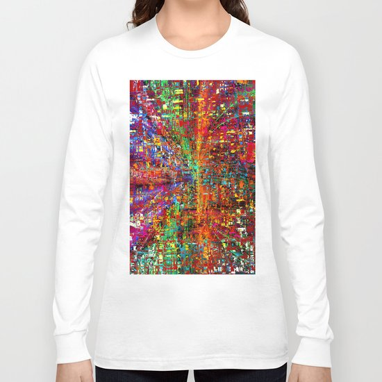 colourful peace Long Sleeve T-shirt