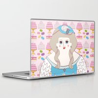 marie antoinette Laptop & iPad Skins featuring Marie Antoinette by Late Greats