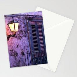 Lantern - Facade - Forza d'Agro - Sicily Stationery Cards
