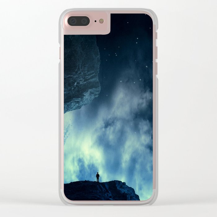 Spaces XVIII - At Night Clear iPhone Case