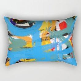 Abstraction of Joy Rectangular Pillow