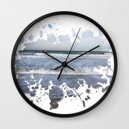 Sea Splash Wall Clock