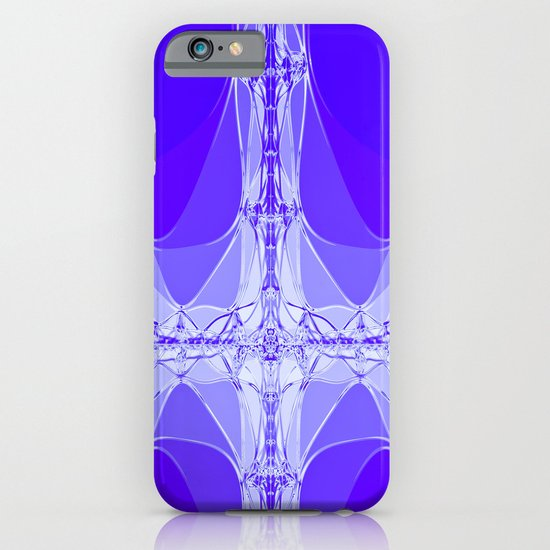 Blue Abstract iPhone & iPod Case
