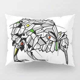 Kiwi Bird Geometric Pillow Sham