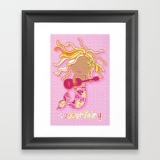 Water Fairy Mermaid Framed Art Print