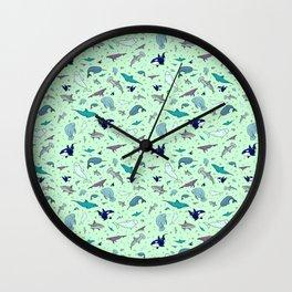 Sea Animals Wall Clock