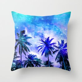 Summer Night Dream Throw Pillow