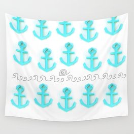 simply paper anchor Wall Tapestry