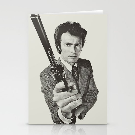 Dirty Harry Stationery Cards