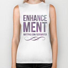 Enhancement Wattpad Book Biker Tank