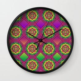 Language Grid Wall Clock