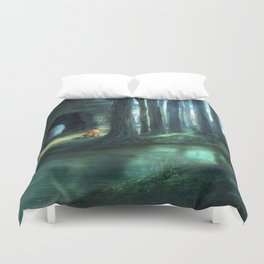The Toadstools Duvet Cover