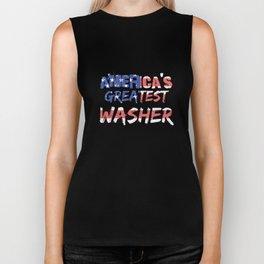 America's Greatest Washer Biker Tank