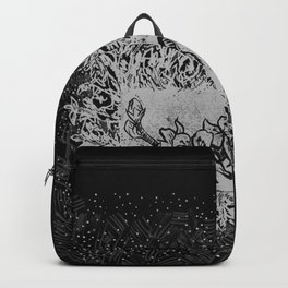Almond blossom jungle (black) Backpack