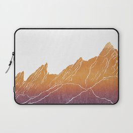 Colorado Mountain Ranges_Boulder Flat Irons Laptop Sleeve
