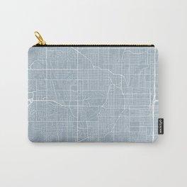 Omaha Map, USA - Slate Carry-All Pouch