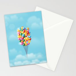 Up and away Stationery Cards