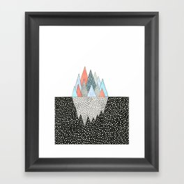Iceberg Framed Art Print